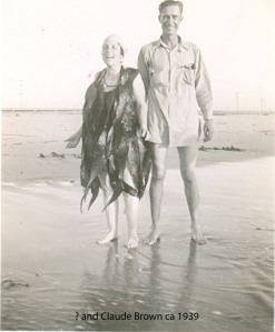 1942 ca Claude & unknown 1