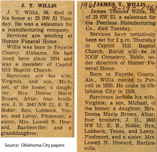 1961-09 Tommy obit combined