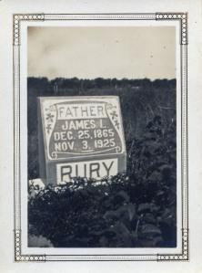 Rury headstone 4
